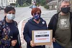 Demonstrace v Rychnově nad Kněžnou.