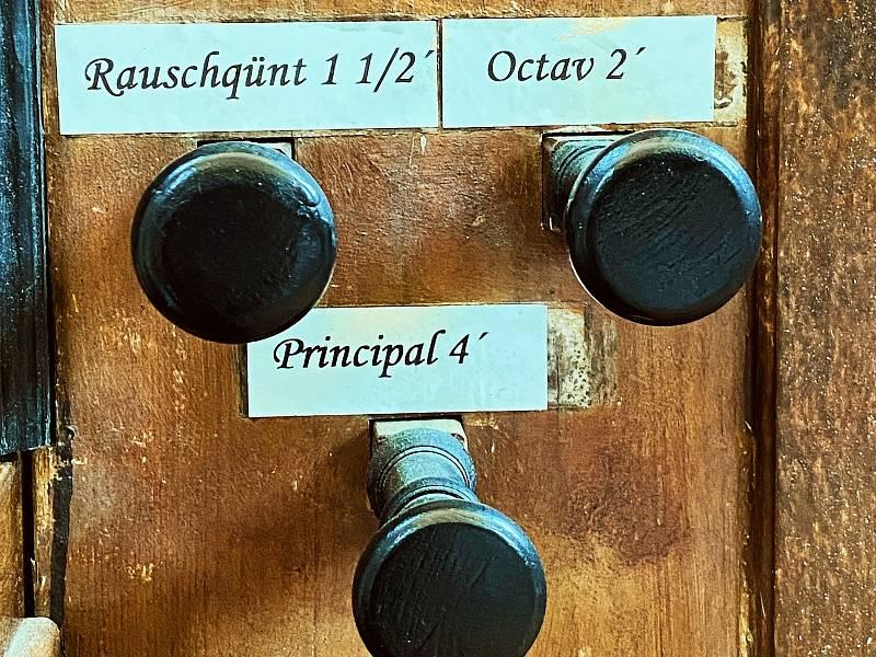 Varhany v Loučné Hoře byly první, které letošní ročník festivalu rozezněl.