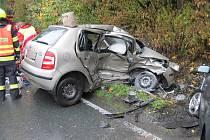 Při nehodě na Rychnovsku zemřela mladá žena