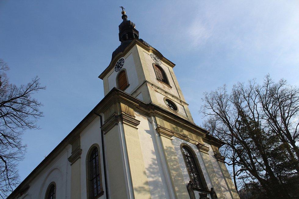 Kostel, Potštejn.