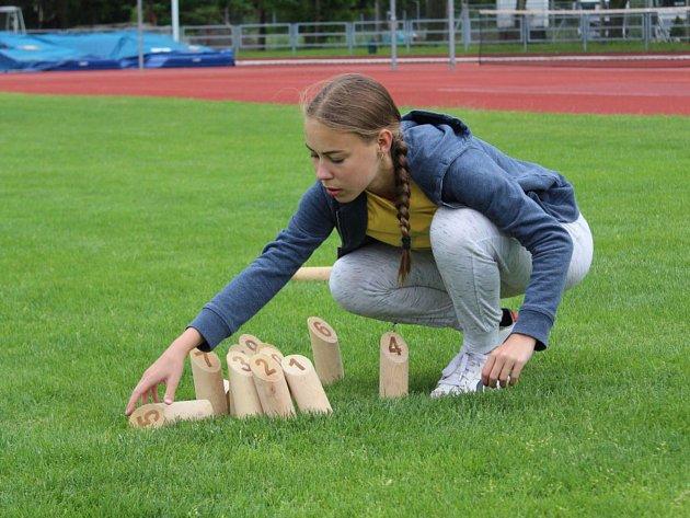 V Týništi se hrálo o mistrovství světa ve hře Mölkky.