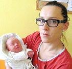 LINDA BEHANOVÁ: Rodiče Lucie Šumichrastová a Tomáš Behan z Kostelce nad Orlicí se radují z dcery. Na svět se poprvé podívala 5. 1. ve 12.59 hodin s váhou 3,1 kg a délkou 49 cm. Doma se na sestřičku těšil Maxík. Tatínek byl u porodu statečný.