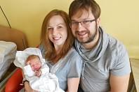 Eliška Tschöpová se narodila 3. ledna 2019 v 18.15 hodin s váhou 3 350 g a délkou 48 cm manželům Tereze a Jakubovi Tschöpovým z Dobrušky. Tatínek to zvládl u porodu na jedničku a byl velikou oporou.