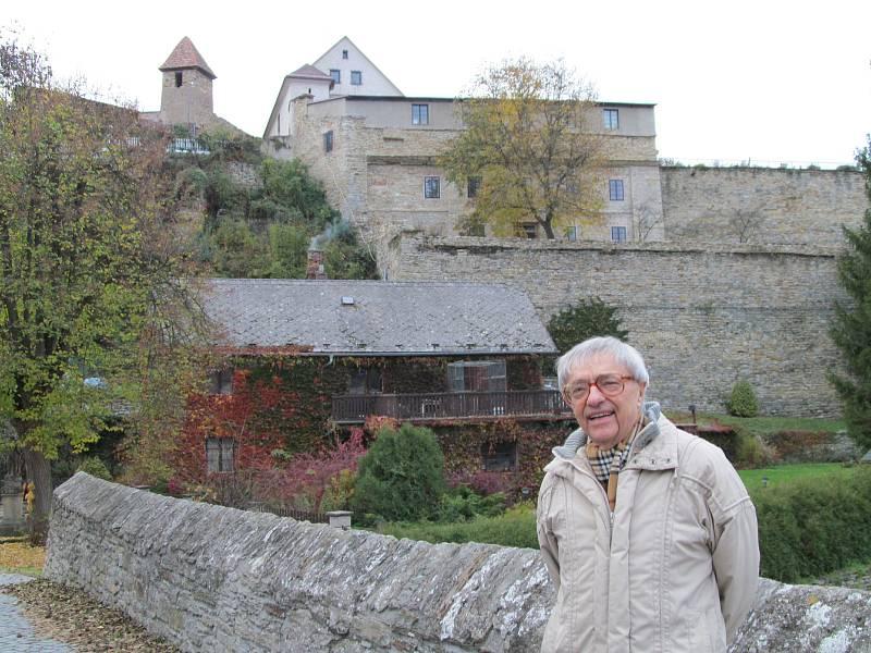 Pro Miloně Čepelku patří k nejoblíbenějším místům v Opočně Švamberk.