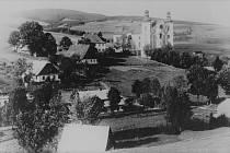 Kostel v Orlických horách.