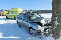 Nehoda u Rokytnice.