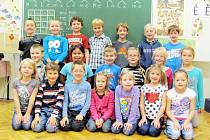 Školáci z 1. A Základní školy ve Vamberku