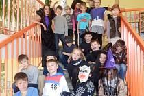 Čarodějnice řádily v základní škole Masarykova.
