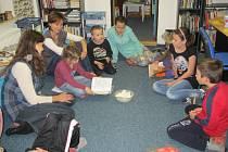 Děti v Mokrém čtou rády.