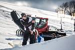 Free ski závody Soldiers 2K18 v Deštném v Orlických horách.
