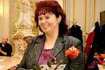PŘEKVAPENÍ. To, že postoupí, Radka Polívková vůbec nečekala. Finále Zlatého Ámose bude 23. března v Praze.