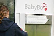 instalace rychnovského babyboxu