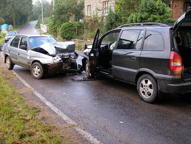 Dopravní nehoda - Slemeno