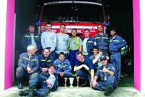 Vamberští hasiči na soutěži v Záměli.