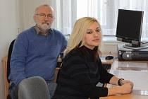 JAN HUBERT I JANA BÁRTOVÁ pracují u krajské policie Královéhradeckého kraje několik let