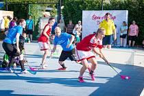 Open Air Cup - florbalový turnaj v Dobrušce.