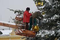 Vánoční strom v Opočně již tradičně rozsvítí Mikuláš