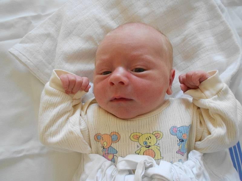 PATRIK PÍČ poprvé vykoukl na svět 26. července ve 22.37 hodin. Měřil 50 cm a vážil 3500 g. Velmi potěšil své rodiče Kateřinu Klofandovou a Jana Píče z Městské Habrové. Tatínek to u porodu zvládl na jedničku a byl velkou oporou.