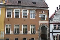 Budovy základní školy v Opočně