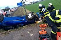 Dopravní nehoda u Dobrušky