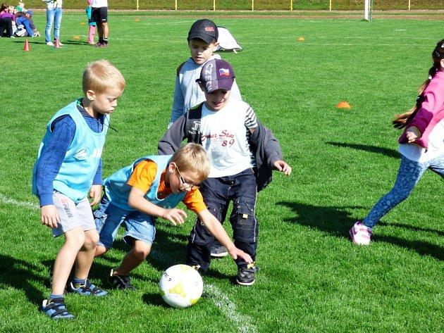 V Rychnově se uskutečnil nábor malých fotbalistů v rámci celorepublikového projektu
