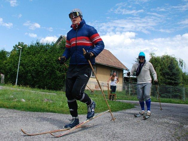 Letní lyžování má už v Českém Meziříčí svou tradici.