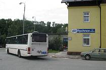 Výluka na trati Častolovice - Solnice (náhradní autobusová doprava v Rychnově)