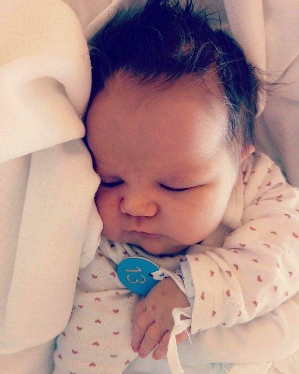 Emma Nedělská se narodila 5. dubna 2021 ve 23:42 hodin s váhou 3680 g a délkou 48 cm. Doma má dva sourozence tříletého Dominika a dvouletého Matyáše. Rodiče Hana a Štefan Nedělští jsou z obce Kozojedy u Jičína.