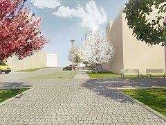 Kostelecká radnice připravuje proměnu okolí místní sokolovny.