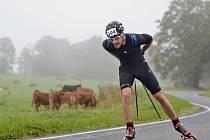 Cyklisté a lyžaři se poprvé vydali z Bartošovic na Šerlich