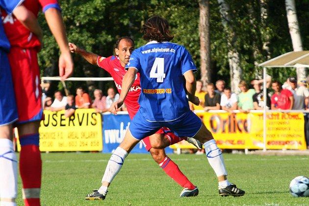 Týniště nad Orlicí vs 1. FC Brno 1:4.