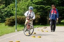 Mladí cyklisté náročným nástrahám odolali