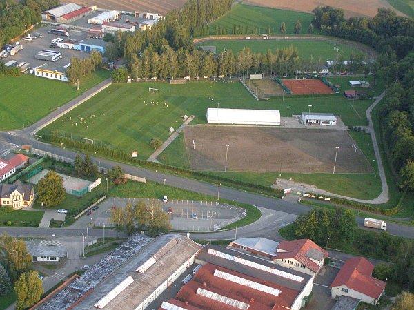 Stadion Václava Šperla vDobrušce