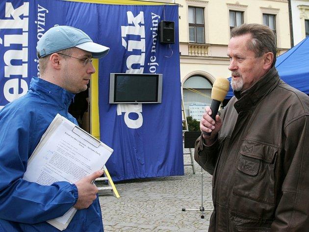 Den s Deníkem na rychnovském náměstí