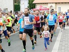 Městský běh Dobruškou.