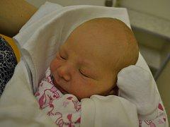 KATEŘINA LEDNOVÁ  se narodila manželům Kateřině a Pavlovi Lednovým z Opočna 14. listopadu v 9:32. Holčička vážila 2930 gramů a měřila 47 cm. Tatínek porod zvládl na jedničku.