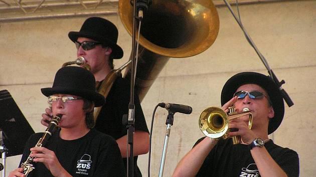 Swingový festival v Týništi nad Orlicí.