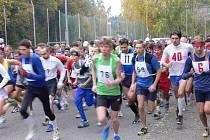 Jubilejní dvacátý ročník silničního běhu Týnišťská desítka.