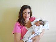 VÍT SUCHÝ se narodil 3. listopadu 2018 v 1.57 hodin Veronice Foffové a Lukášovi Suchému z Orlice. Měřil 52 cm a vážil 3 660 g. Tatínek byl u porodu a moc pomáhal.