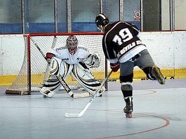 Inline hokej - ilustračn