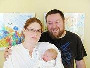 IVO NOVÁK:  Manželé Karolína a Ivo Novákovi ze Zdobnice se radují ze syna. Narodil se 29. 12. ve 3:09 hodin a po narození vážil 3,25 kg a měřil 49 cm. Doma se na malého brášku těšila Gabriela. Tatínek to u porodu zvládal úžasně.