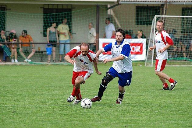 Premiérový ročník charitativního fotbalového turnaje medií RTA Cup v Přepychách.