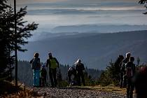 Slavnostní otevření nové rozhledny na Velké Deštné v Orlických horách.