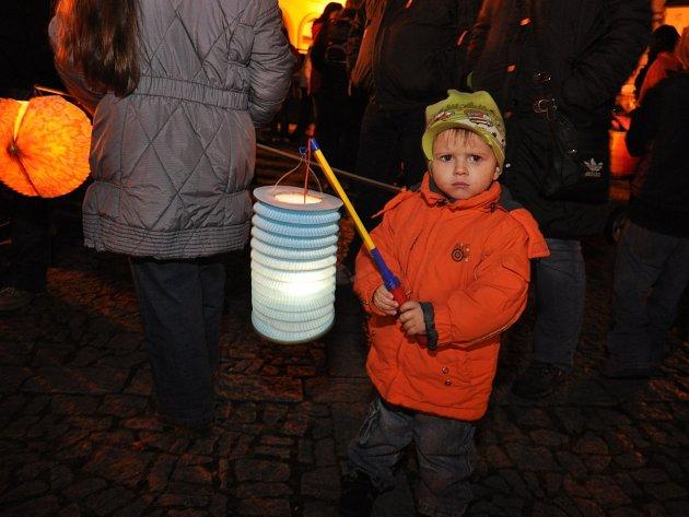 Lampionový průvod v Rychnově nad Kněžnou