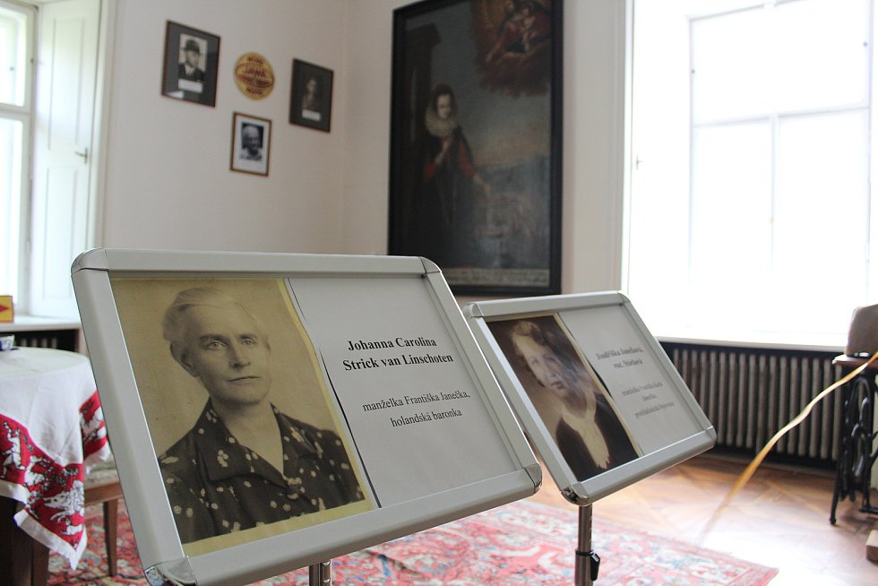 O znovuvzkříšení kvasinského zámku se stará Soňa Klímová - Janečková