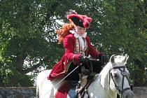 Baroko, koně a hudba.