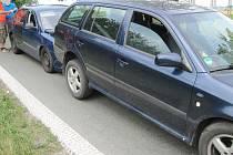 V Lipovce se srazila dvě auta.