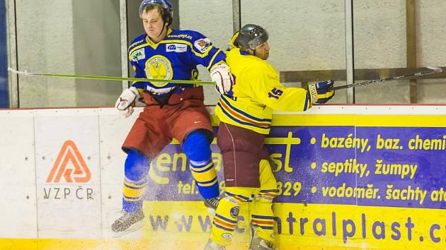 V závěrečném letošním duelu tradičních rivalů Semechničtí prohráli s opočenskými Barony.