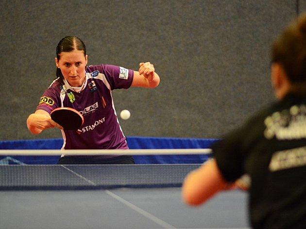 Dva a půl bodu vybojovala v Hluku doberská hráčka Miroslava Ságlová a přispěla k remíze svého týmu.