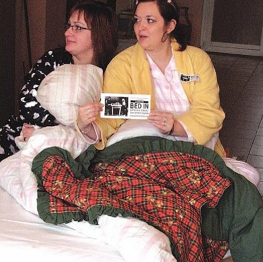 Pyžamová stávka: Sociální služby nejsou něco navíc..
